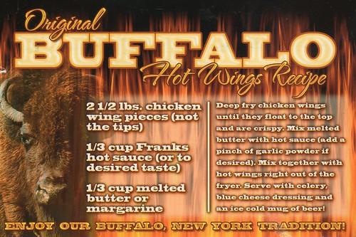 NY Buffalo Hot Wings Recipe