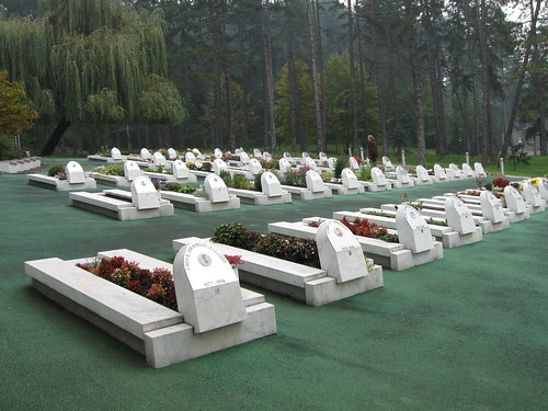 Cemetery for the Victims of the Massacre on May 25, 1995