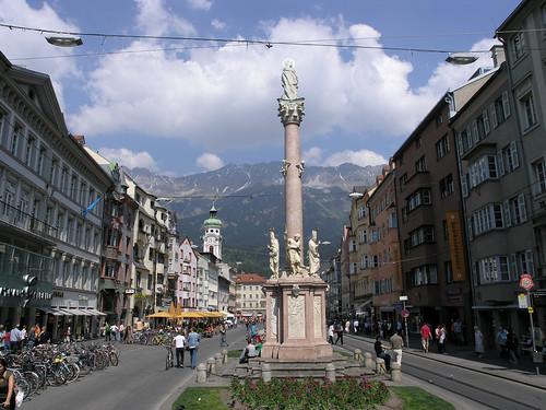 Innsbruck on Sunday morning