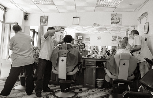 Getting a Haircut, Os Irmãos, Coimbra