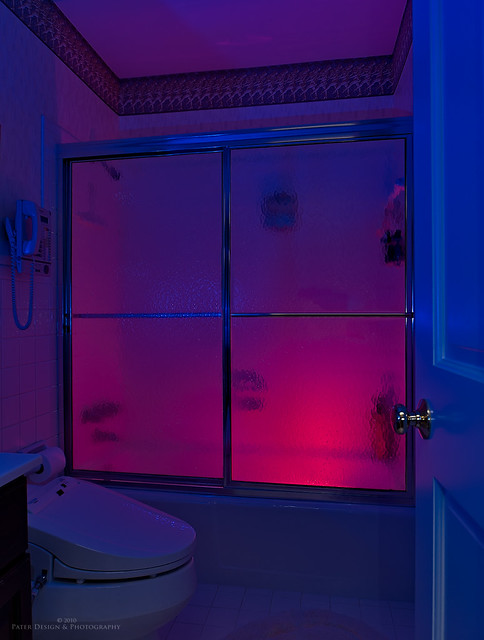 The red light bathroom district flickr photo sharing for Z gallerie bathroom lights