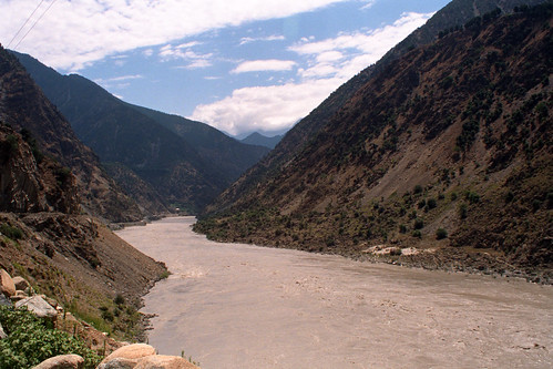 pakistan castle river highway asia karakoram kkh 1994 rowan indus nikonem highquality