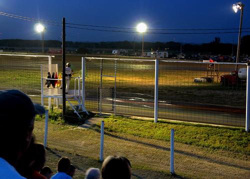 blur car racetrack nebraska dusk norfolk racing autoracing motorsports raceway stockcar norfolknebraska rivieraraceway