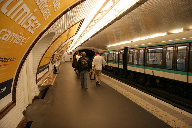 subway at station porte maillot flickr photo
