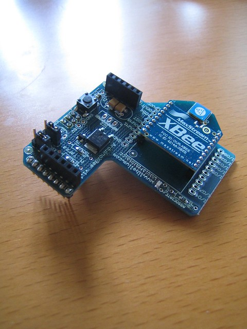 Arduino xbee wireless shield flickr photo sharing