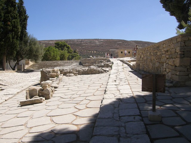 Knossos, the Palace of King Minos and the Minothaurus, 4000years old, 080