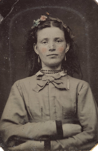 Portrait of a young woman, ca. 1856-1900.