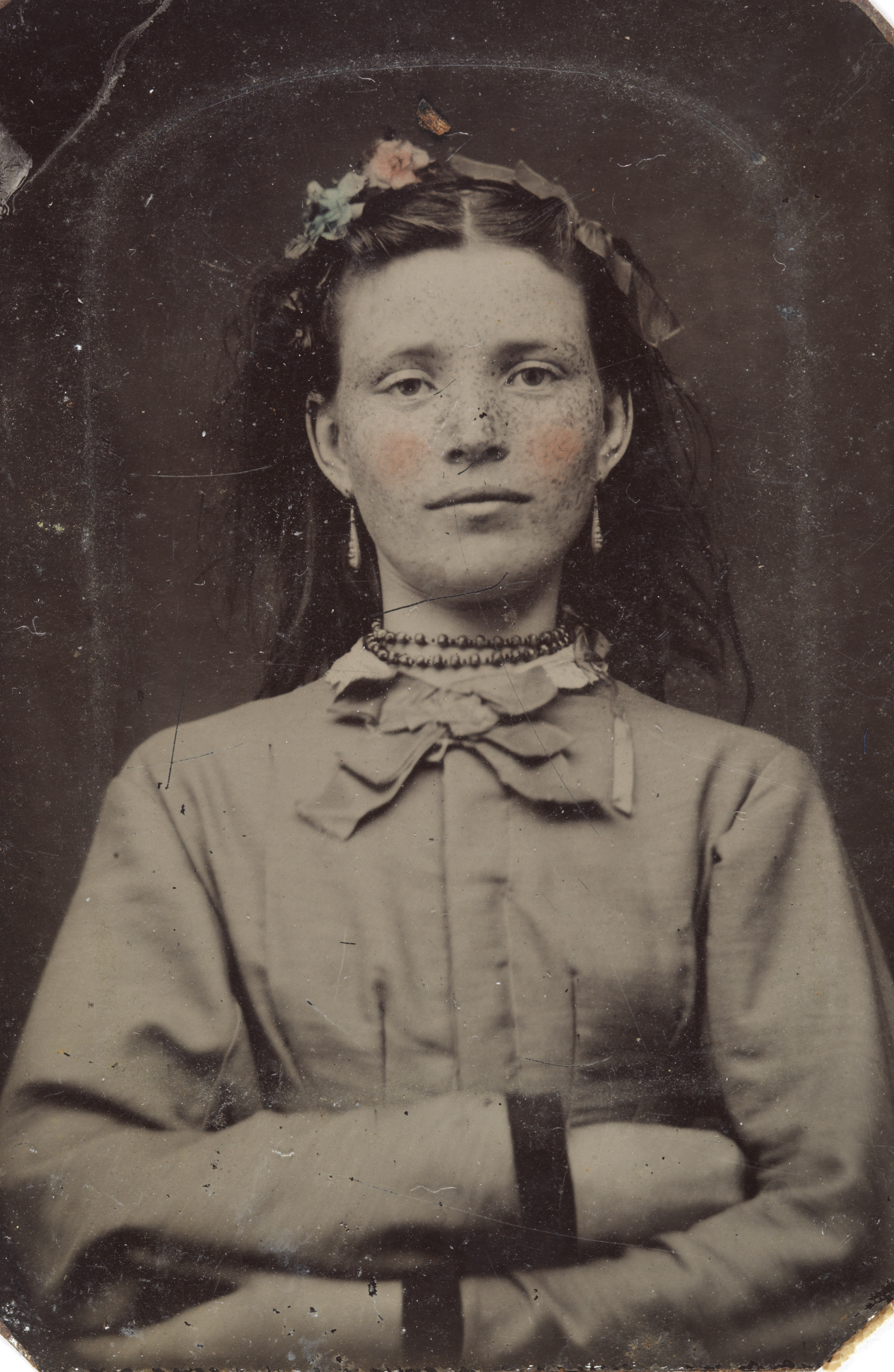 Portrait Of A Young Woman Ca 1856 1900 Flickr Photo