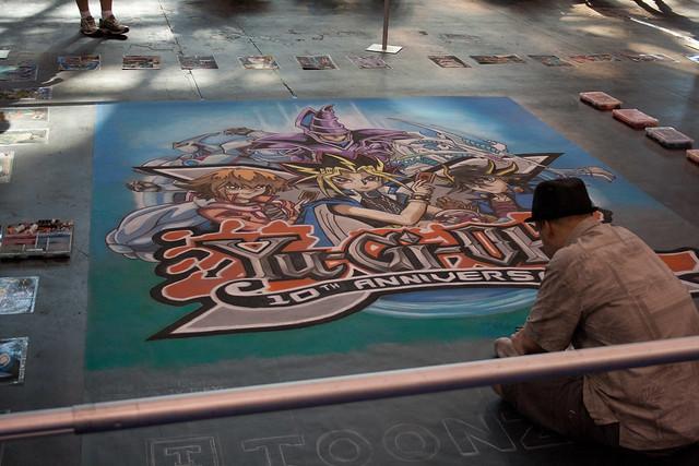 Yu Gi Oh Floor Mural