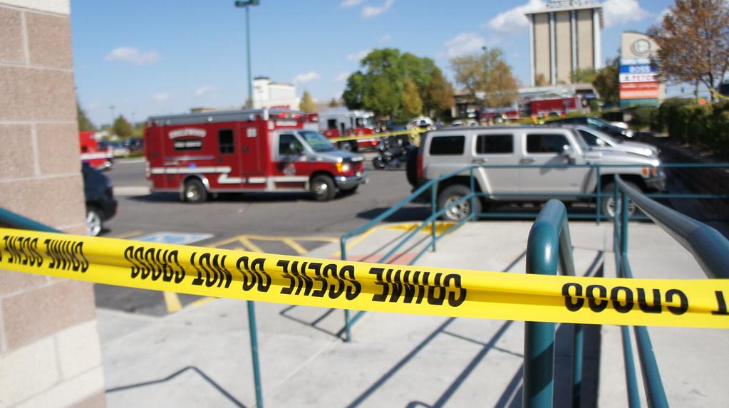 Englewood Accident - Crime Scene Tape 3