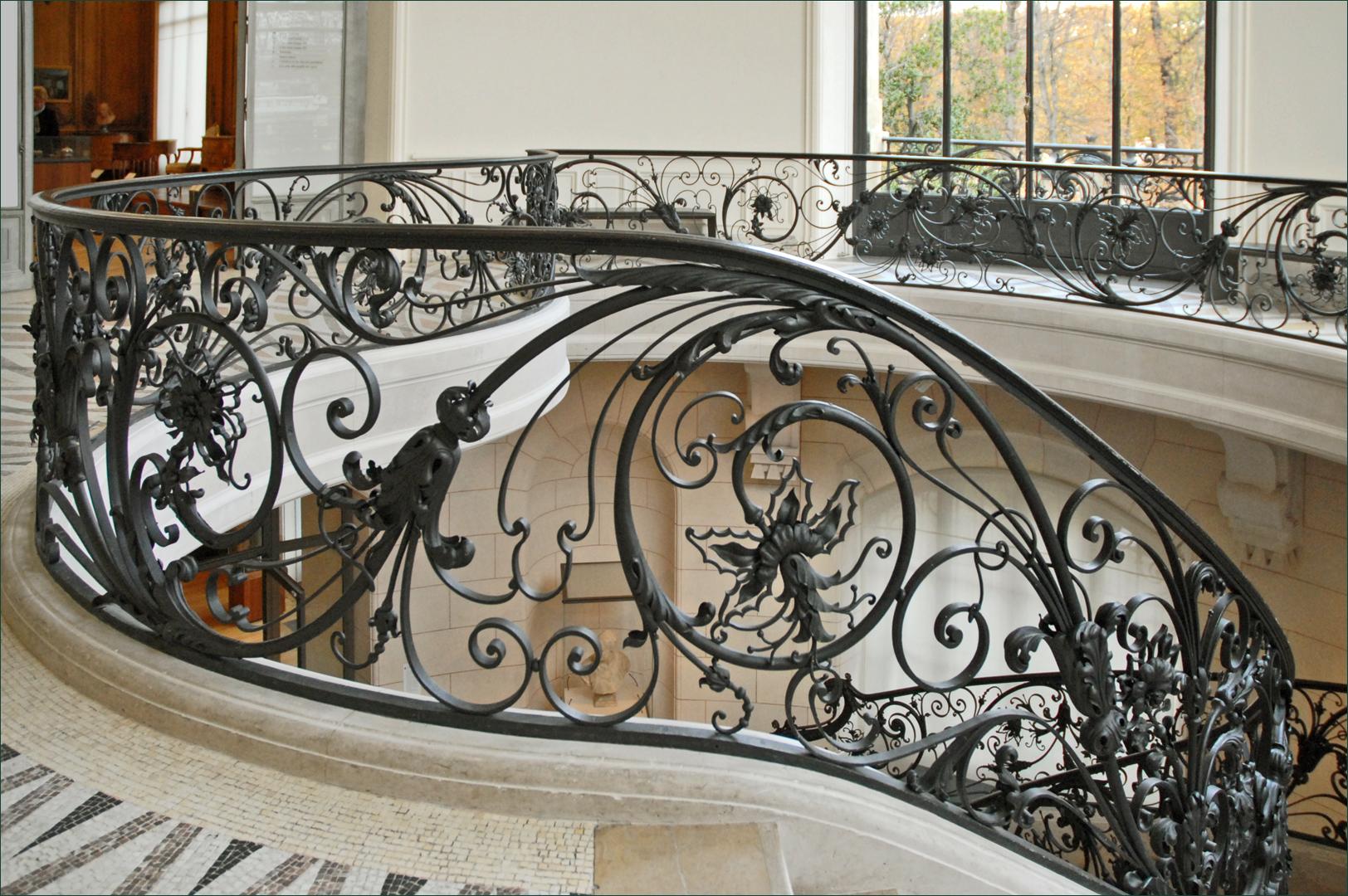 rampe en fer forg d 39 une des rotondes du petit palais flickr photo sharing. Black Bedroom Furniture Sets. Home Design Ideas