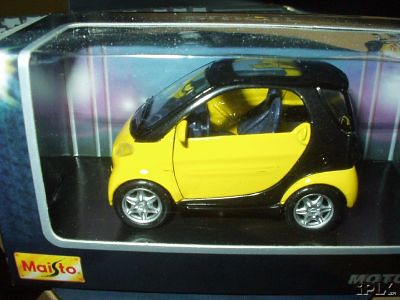 Smart Car - Yellow Black | Flickr - Photo Sharing!