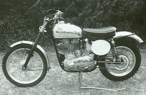 1954 BSA BB34 Gold Star