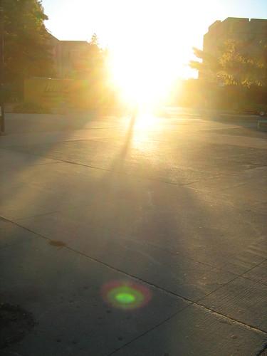 ontario sunrise londonontario uwo concretebeach