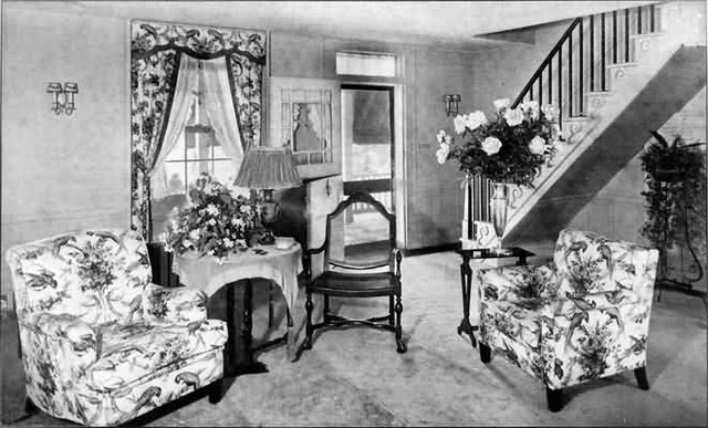 1920 39 s living room emily post etiquette 1922 by for 1920s living room ideas