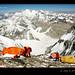 Tibet-Everest-campsite-climbers-8300m