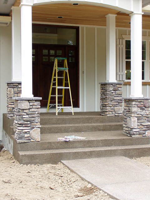 Stone Columns Design : Stone veneer column joy studio design gallery best