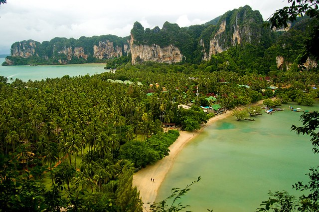 View over Railay Bay