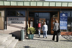 Skutebrygga, Drammen