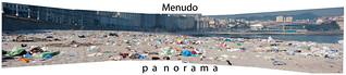 Imagen de Praia do Orzán Playa del Orzán cerca de A Coruña. panorama beach playa sanjuan shit basura mierda vergüenza acoruña sanxoan