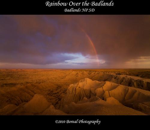 southdakota landscape badlands boreal