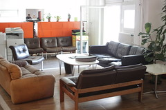 floor, furniture, loveseat, room, property, table, living room, interior design, couch, hardwood, flooring,