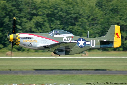 "1945 North American P-51D Mustang ""Gunfighter"" -- Commemorative Air Force - Great Plains Wing (44-73264)"