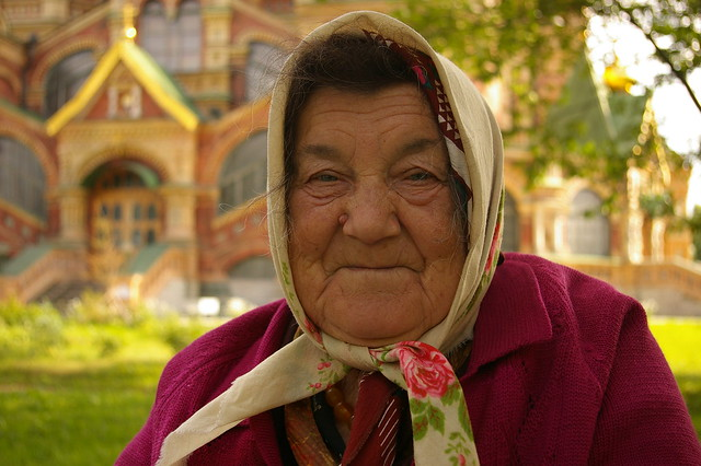 Woman Russian Old 104