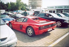 race car, automobile, ferrari 512, vehicle, ferrari 348, ferrari testarossa, ferrari s.p.a., land vehicle, luxury vehicle, supercar, sports car,