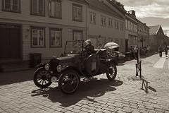 Veteran car at Bakklandet