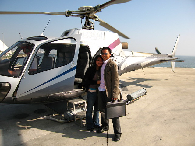 Helicopter Ride To Catalina Island