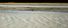sand, mudflat, wave, shore,