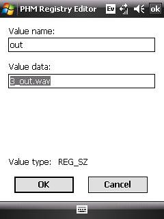 New Registry Values