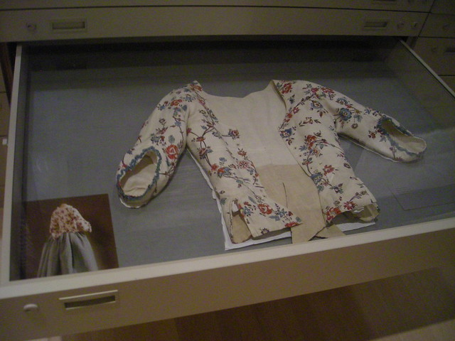 late 18th-century cotton print jacket