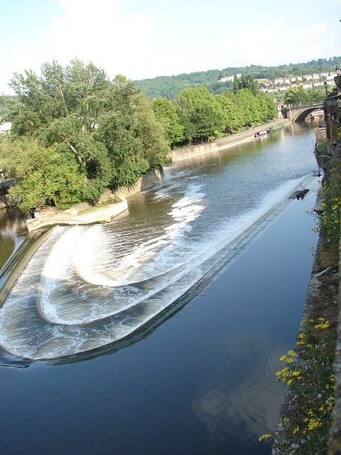Funny angle of the river in Bath | Flickr - Photo Sharing!