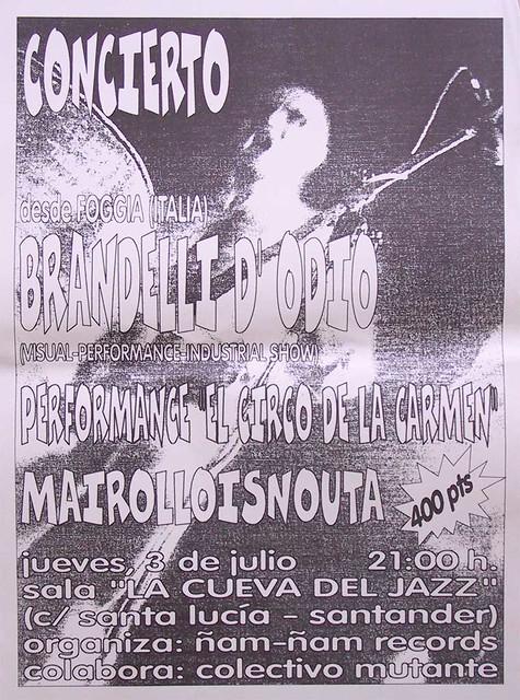 Brandelli D'Odio+Mairolloisnauta
