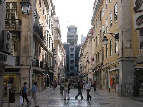 Lisboa / Lisbonne - Elevador de Santa Justa