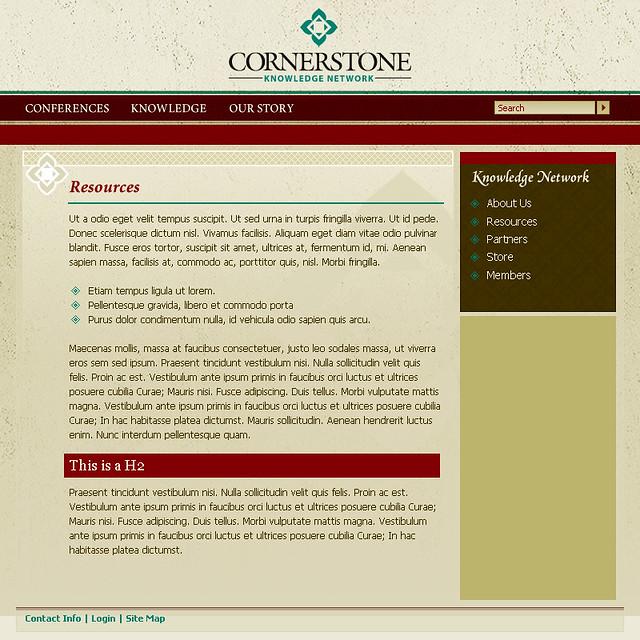 Cornerstone Knowledge Network - Group C