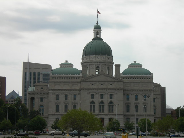 Indiana State Capitol Building Construction Drawings
