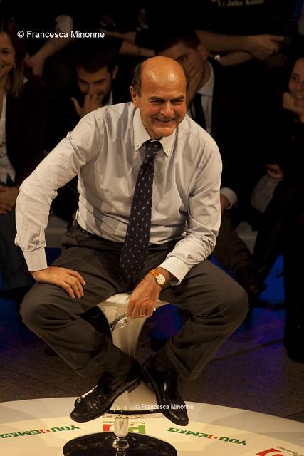 Pier Luigi Bersani incontra i giovani