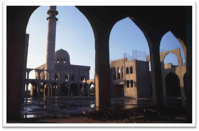 Raqqa, mausolée de 'Uways al-Qarani