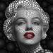 Marilyn Monroe by Ben Heine