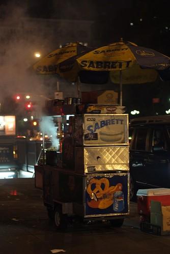 Sabrett New York Hot Dog Cart Trifecta