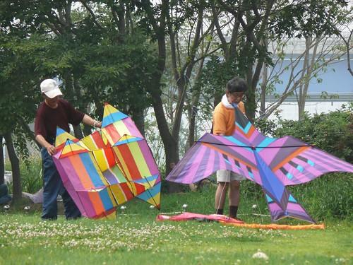 kite flying @ Hangang Park