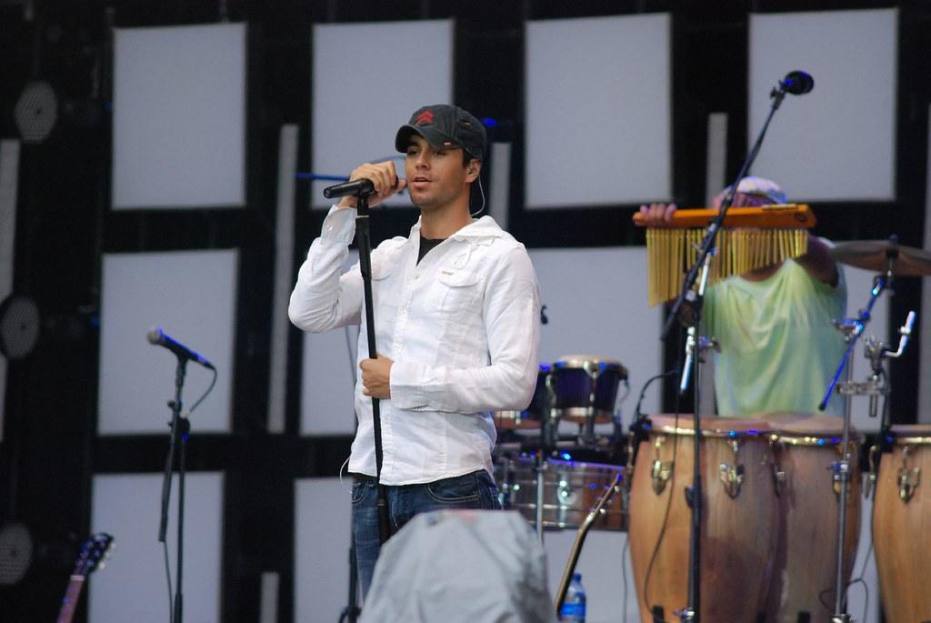 Enrique Iglesias -  Live Earth Konzert Hamburg 07.07.2007