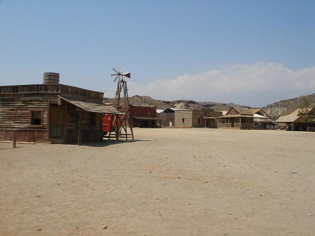 El viejo oeste en el Desierto de Tabernas