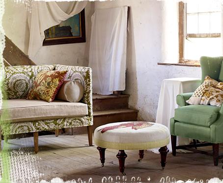 Anthropologie Ditte Slipcover Sofa Decor8