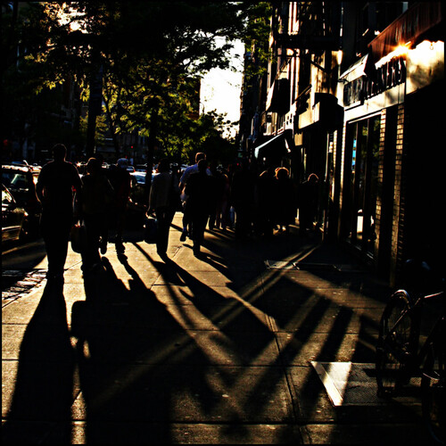 street travel shadow people usa brown newyork france art 6x6 bike sunrise canon us back cityscape candid christine streetscape 500x500 lebrasseur 400d allrightsreservedchristinelebrasseur