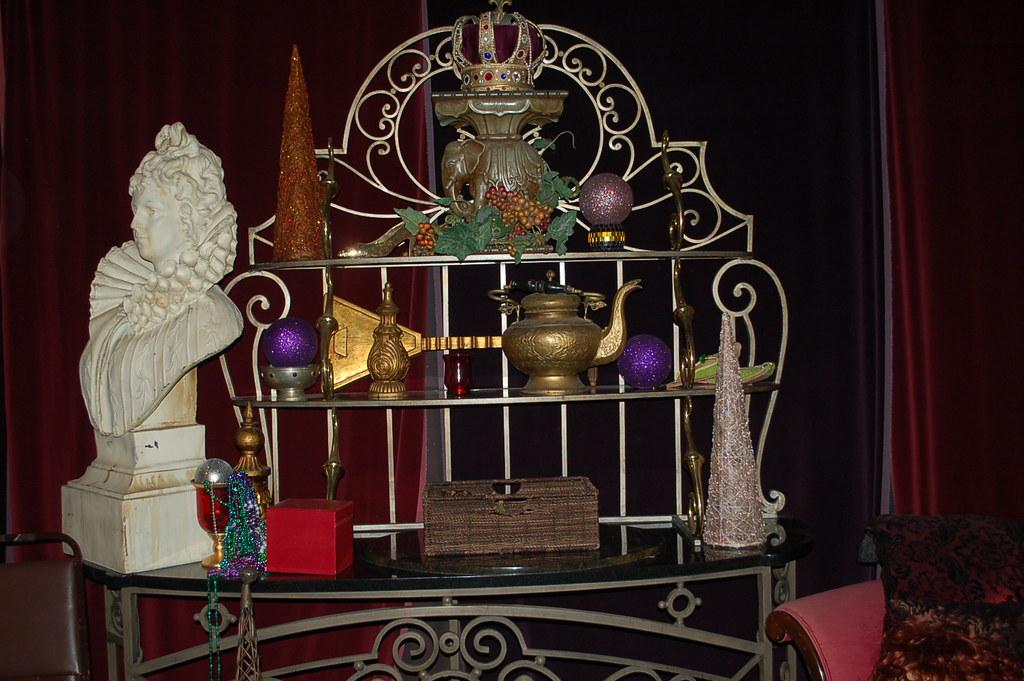 Bernhadrt Iron and brass console top