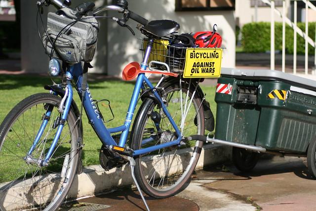 Ellen Fletcher's bike